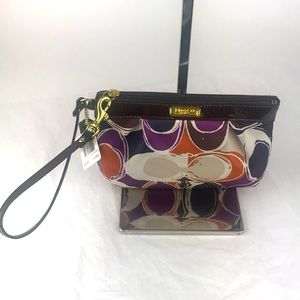 Coach cosmetics bag